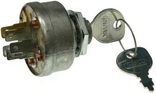Ignition KEY Switch Sears MTD Craftsman John Deere Toro Riding Lawn Mower STD365402 24688 725-0267 925-0267 21064 421064 (Sears Auto Switch)