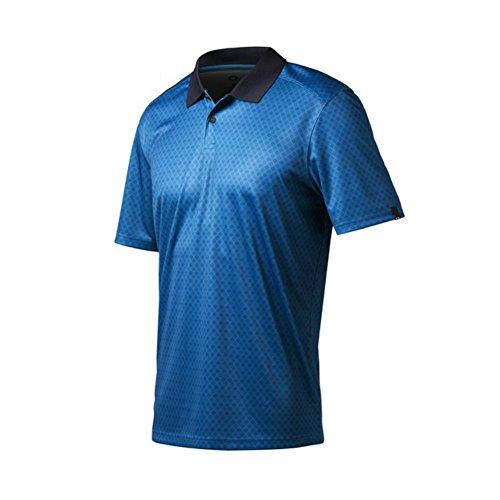 Oakleyアンドリュー?ポロゴルフシャツCloseout新しいメンズ新しい – Cali Blue 6 CS Small
