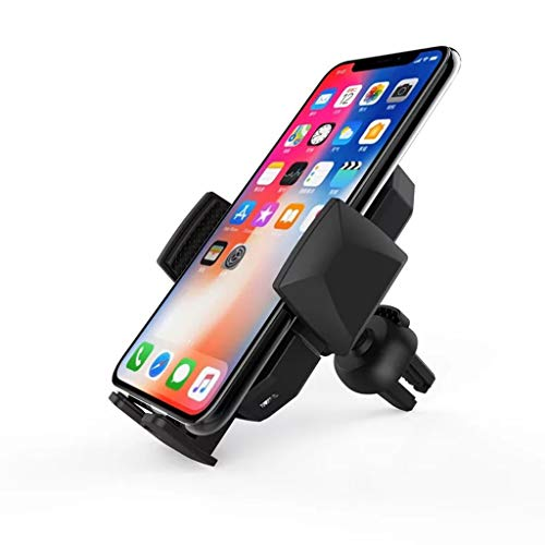 m·kvfa Wireless Fast Charger Dock Car Holder Charging for IPhoneXS for Samsung S10 Coaster Air Jacket Liner