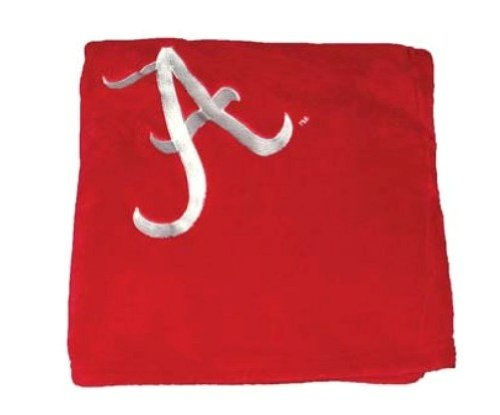 Crimson Tide Embroidered Fleece Throw (50 x 70-inch) ()