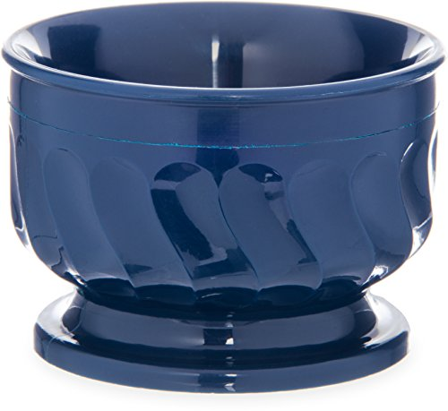 Insulated 5 Ounce Bowl - Dinex DX320050 Turnbury Urethane Foam Insulated Pedestal Base Bowl, 3-1/2