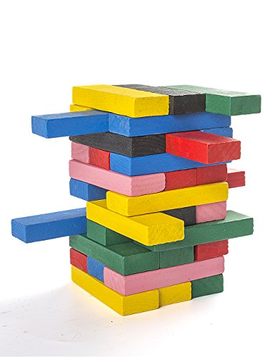 POPLAY-Colorful-Wooden-Tumber-Tower-Blocks-Drinking-Game-54-pieces