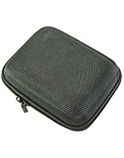 Generic Gameboy Advance SP Carrying Case Hard Shell Black Travel Holder compatible with Nintendo Gameboy Advance SP