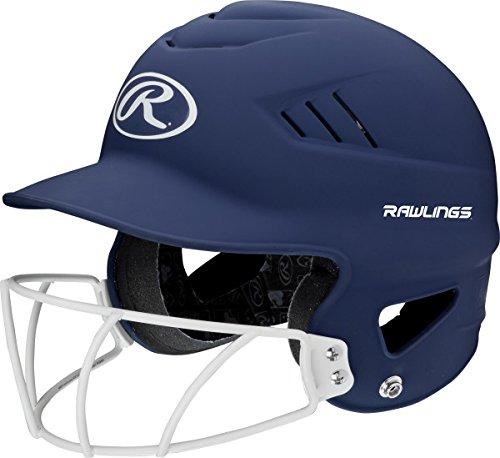 Rawlings Sporting Goods Highlighter Series Softball Helmet, Matte Navy