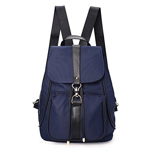 donna Borsa da Oxford Sprnb nylon tela a di borsa in nero tracolla blu qwwngICO