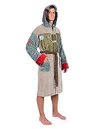 Star Wars Boba Fett Adult Hooded Fleece Robe Multi One Size Fits Most