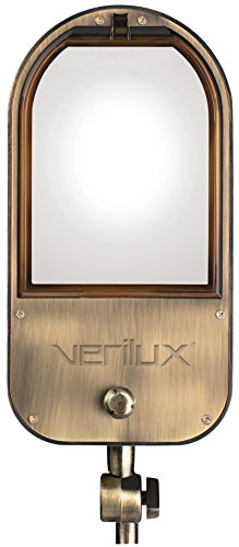 Verilux VF03FF5 Heritage Deluxe Natural Spectrum Floor Lamp, Classic All Metal Design, 53'' x 10.5'' x 10.5'', Antiqued Brushed Brass by Verilux (Image #2)