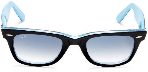 Ray Ban Black Blue Azul Azure Light Gafas sol de Wayfarer Gradient 77wWrRdq