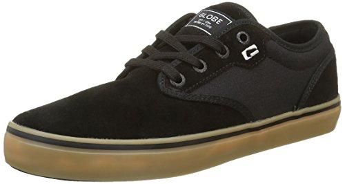 Globe Motley - Zapatillas Hombre Negro (Black/black/gum)