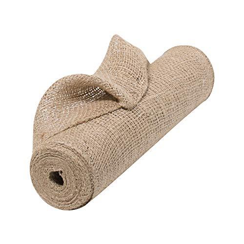 Natural Jute Fabric Burlap Ribbon - 12
