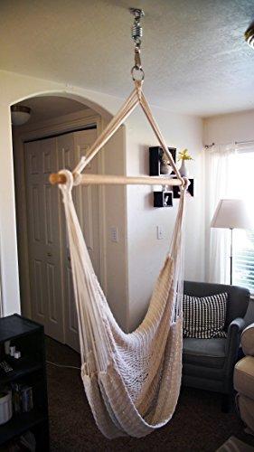 Stainless Hammock Chair Spring Swivel Hook Ceiling Mount ...