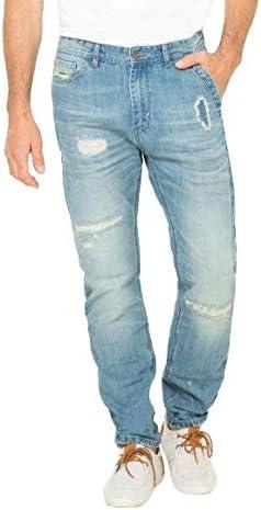 Desigual Pantalon Azul para Hombre Talla 28