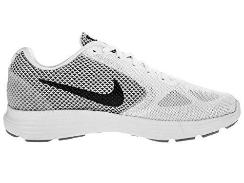 Nike Kvindernes Revolution 3 Løbesko Hvid / Ulv Grå / Mtlc Mørkegrå cX2CBwwvqD