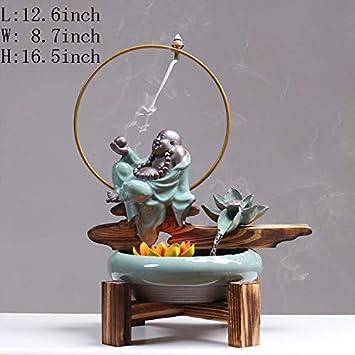 Estatuas Artes de la decoración,Ornamentos del Agua Zen Feng Shui atraer decoración financiera Pecera