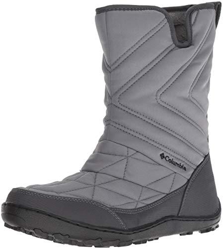 (Columbia Women's Minx Slip III Mid Calf Boot, ti Grey Steel, Black, 6.5 Regular US)