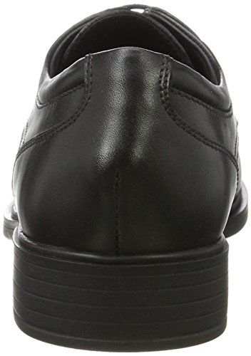 Np Negro Abx Para Zapatos Hombre black Derby U Geox Yoris aOpqySw6T