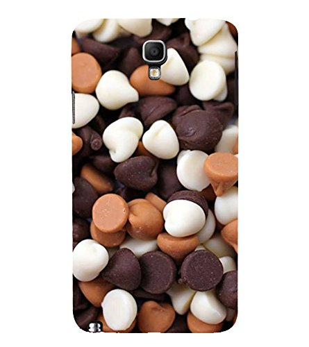 Choco Chips 3D Hard Polycarbonate Designer Back Case: Amazon