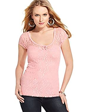 Guess Women's Lace Top