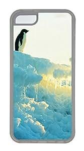 Brave The Penguin Cases For iPhone 5C - Summer Unique Cool 5c Cases
