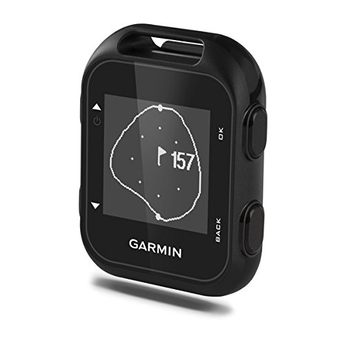 Garmin Approach G10 Golf GPS with Garmin Lanyard Carabiner & Belt Clip | Pocket sized Handheld GPS Bundle