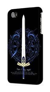 linJUN FENGS0616 Fate Stay Night Excalibur Case Cover for ipod touch 5