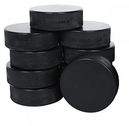 A&R Official Size Weight Black Rubber Game Practice Ice H...