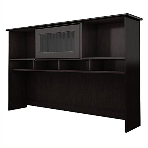 Bowery Hill 60'' Hutch in Espresso Oak by Bowery Hill