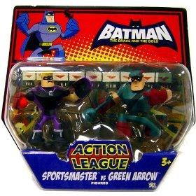 DC Batman Brave and the Bold Action League Mini Figure 2-Pac