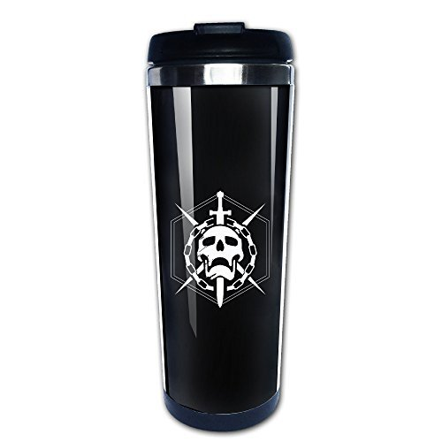 Destiny The Taken King Skull Logo Coffee Thermos Mug (Destiny The Taken King Xbox 360 Code)