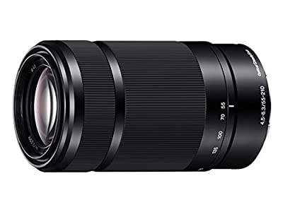 Sony E 55-210mm F4.5-6.3 Lens for Sony E-Mount Cameras (Black) - International Version (No Warranty) from Sony