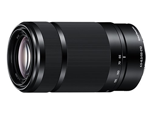 Sony E 55-210mm F4.5-6.3 Lens for Sony E-Mount Cameras (Black) - International Version (No Warranty) by Sony
