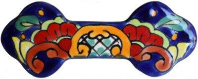 Rainbow Talavera Ceramic Drawer Pull (16 Hand Painted Ceramic Tiles)