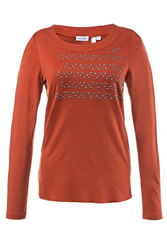 GINA_LAURA Damen Shirt kürbis L 708380 65-L