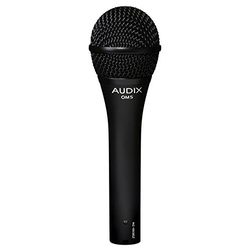 Audix OM5 Dynamic Microphone, Hyper-Cardioid by Audix