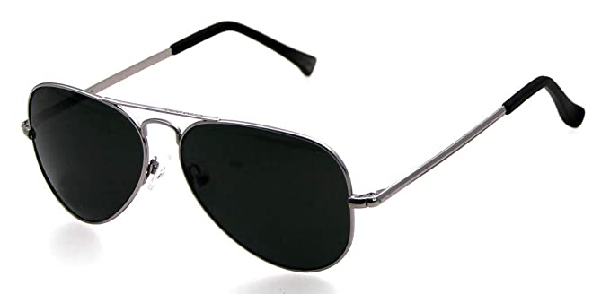 3afb0b42d13 Image Unavailable. Image not available for. Color  Shakanjo 7695PRV Aviator  Polarized Lens Sunglasses Military ...