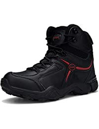 Mens Outdoor Hiking Boots Waterproof Anti-Slip Tactical Ankle Boot