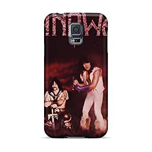Samsung Galaxy S5 Oxg24739BsPM Customized Attractive Manowar Band Pictures Bumper Hard Cell-phone Case -SherriFakhry
