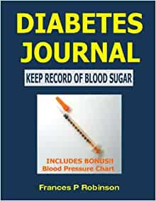 Diabetes record book frances p robinson