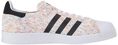 adidas Men's Superstar 80s Originals Casual Shoe White/Footwear White 9.5