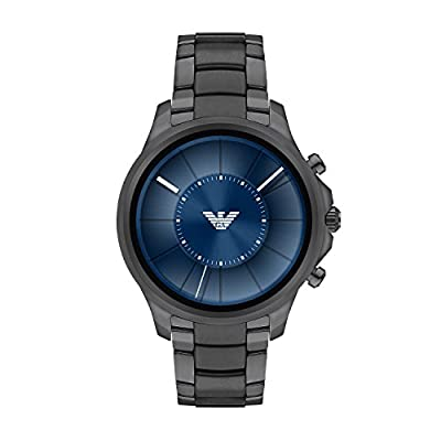 Emporio Armani Men's Smartwatch, Gunmetal Stainless Steel, ART5005 from Emporio Armani Connected Watches Child Code