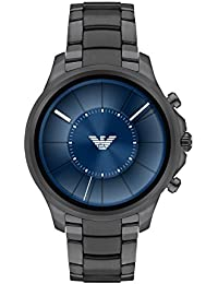 Mens Smartwatch, Gunmetal Stainless Steel, ART5005. Emporio Armani