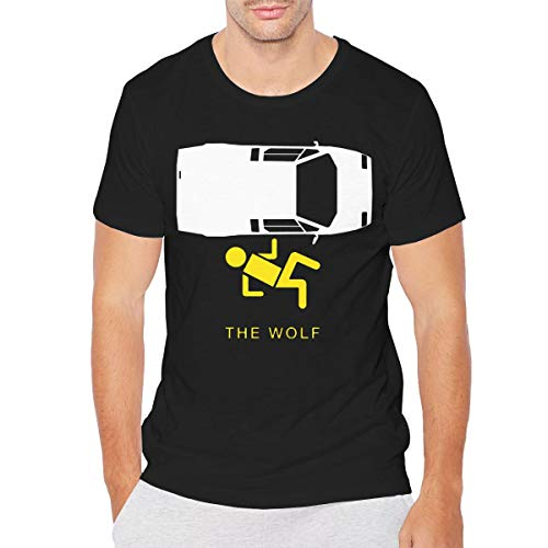 Men The Wolf of Wall Street ClassicShort Sleeve T 3XL Black