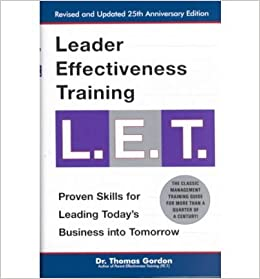 leader effectiveness training let revised let