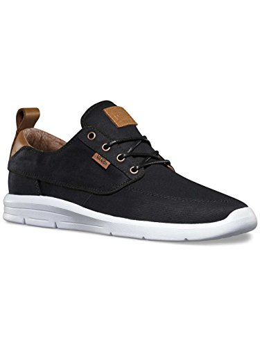 Vans Brigata Lite Plus, Baskets Basses Mixte Adulte Noir (T&L/Black/White)