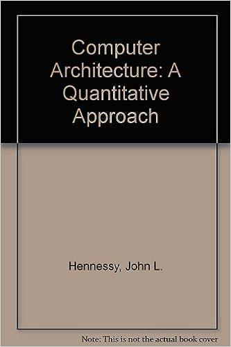 Computer architecture a quantitative approach john l hennessy computer architecture a quantitative approach john l hennessy 9781558601888 amazon books fandeluxe Images
