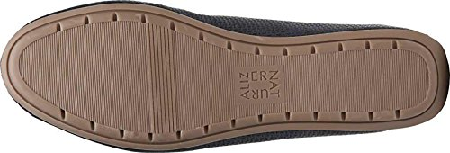 Naturalizer Womens Una Flat Shoes, Navy, 7.5 W Us
