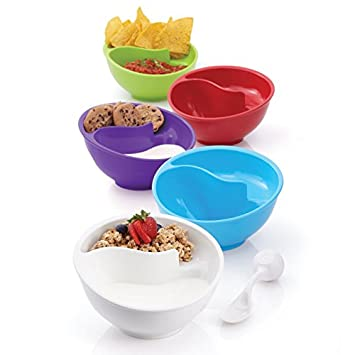 Amazon obol the never soggy cereal bowl with spoonit obol the never soggy cereal bowl with spoonit ccuart Gallery