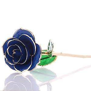 Rosas de oro preservar flores Golden Forever preservar rosas por mágico de fantasía