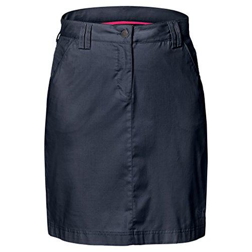 Jack Wolfskin Womens/Ladies Liberty Quick Dry Polycotton Travel Skirt Midnight Blue