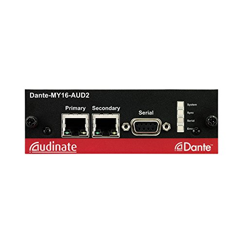 Yamaha DANTE-MY16-AUD2 | Digital Audio Networking Interface Card by YamahaCorp. (Image #1)